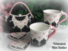 Whimsical Bliss Studios - Purse Tea Set