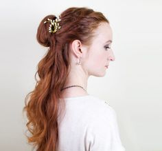 Hairstyle Tutorial for Belle in Beauty and the Beast
