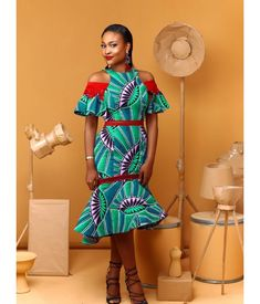 African Dresses For Women, African Wear, African Women, African Style, Ghana Fashion, African Fashion, Ankara Dress, African Design, Ankara Styles