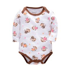 Baby Bodysuits with Winter Boy Clothes Newborn Baby Clothing Set Jumpsuit Infant Boy Girl Clothes Roupas Bebe Costume #Affiliate