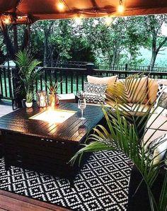 Design Patio, Backyard Patio Designs, Backyard Projects, Patio Ideas, Porch Ideas, Landscaping Ideas, Backyard Ideas, Garden Ideas, Outdoor Rooms