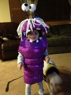 Monsters Inc. Boo Costume by MaybeBabyOnEtsy on Etsy