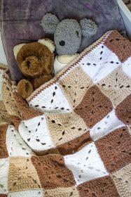 Svarta Fåret : Virkad babyfilt Ida Blogg, Children, Kids, Blanket, Barn, Crochet, Creative Ideas, Babies, Young Children