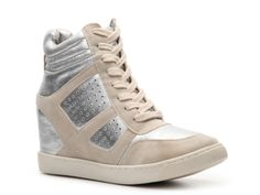 Wanted Wooster Wedge Sneaker #DSW