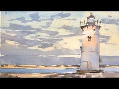 Gary Tucker - Boston based Watercolor artist shares his videos related to class projects for current students attending his weekly watercolor classes in Bost. Watercolor Sunset, Watercolor Video, Watercolor Paintings Abstract, Watercolor Trees, Watercolour Tutorials, Watercolor Artists, Watercolor Portraits, Watercolor Techniques, Watercolor Landscape