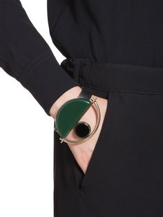 Green Marni Single-Sized Bracelet. $290