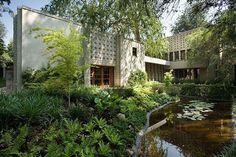 Frank Lloyd Wright's Millard House in Pasadena