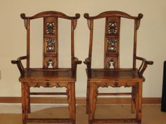 Chinese Arm - Hat Chairs Chinese Furniture, Chinoiserie Chic, Asian Decor, Antique Chairs, China, Wood Carving, Oriental, Armchair, Hat
