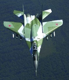 """Russian Air Force Mikoyan MiG-29SMT """"Fulcrum-C"""""""