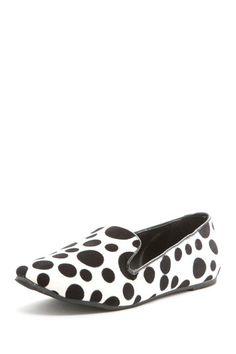 BootsiTootsi Polka Dot Smoking Flat Shoe by Say Hello to Spring on @HauteLook