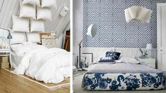 Beautiful Ming Blue/white color combo- LOVE the large toille as platform cover- could be bedskirt too!