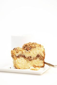 cinnamon pecan coffee cake