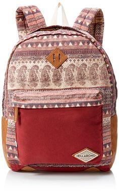 019570b6fae8 Amazon.com  Billabong Women s Juniors Hidden Trek Backpack