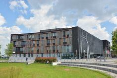Administrative center, La Louvière (Belgium) by ARTER ARCHITECTS  #Architecture #AnthraZinc #Belgium #Belgique #Zinc #VMZINC #PublicBuilding