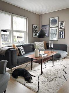 Modern Interior, Interior Design, Pink Walls, Living Room Designs, New Homes, House Design, Furniture, Planter, Home Decor