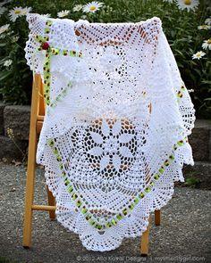 Silverlace Blanket Pattern  http://mylittlecitygirl.com/2012/08/imagical-seasons-crocheted-silverlace-topicana-blankets-pattern/