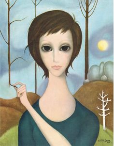 margaret keane paintings - Buscar con Google