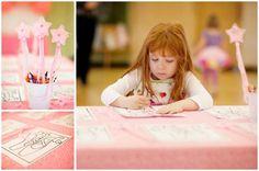 little girl's ballerina birthday party 5