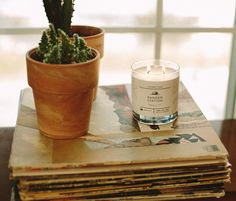Our Saturday morning routine: coffee, vinyl, and our favorite Leather + Pine candle. #myrangerstation