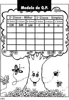 2012        Sistema de numeração decimal - Atividades com centena, dezena, unidade, quadro posicional para preencher!                      ...