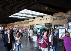 Livorno - Florence day trip:  A beginner's guide to train travel in Italy.