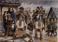 Legionaries in marching order, c. 130 AD - Imperial Rome at War