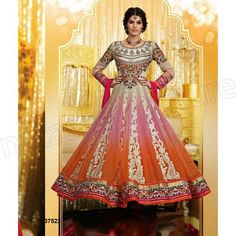 Natasha Couture Indian Party Wear Anarkali Suits 2015 for Women | StylesGap.com