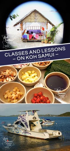 Things to do on Koh Samui: courses, classes and lessons to take // #Samui #Thailand // http://www.kohsamuisunset.com/thailand-courses/