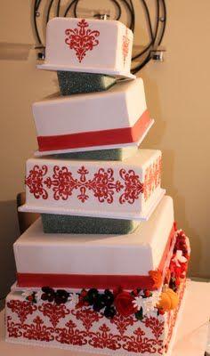 Sweet Eats Cakes: Topsy Turvy Wedge Cake Tutorial