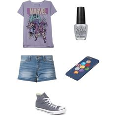 Universal studios outfits by livingkrystalklear on Polyvore featuring polyvore, fashion, style, Vero Moda, Converse, OPI and Awake
