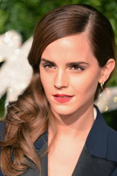Emma Watson attends the British Fashion Awards at London Coliseum on December 1, 2014 in London