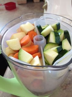 Tips for making homemade baby food; will try this next time.