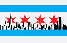 chicago flag design
