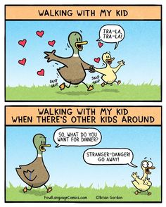 Walking with my kids