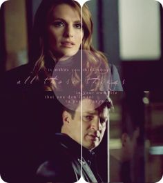 Castle - it makes you think. Tamala Jones, Richard Castle, Castle Tv Shows, Castle Beckett, Great Love Stories, Stana Katic, Best Shows Ever, Best Tv, Movies And Tv Shows