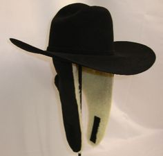 Western Hat Accessories Wild West Braiding Hat Flaps with Faux Sheep Lining f1aeb9dcd19
