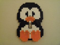 Perler Bead light switch cover (July 2012)