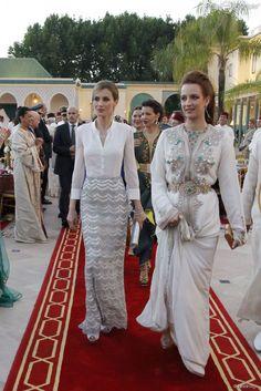 Lalla Salma of Morocco #Princess_Caftan #White