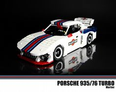 Porsche 935/76 Turbo: A LEGO® creation by Malte Dorowski : MOCpages.com
