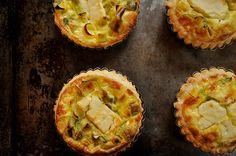 Leek, Lemon, and Feta Quiche #recipe #FrenchFood
