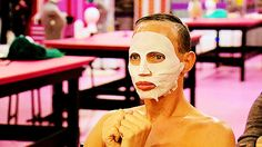 Hearing people say Tatianna should've stayed when she's the only queen to break character during Snatch Game