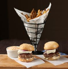 You could make the patties out of lamb. | 30 Amazing Sliders For Your Super Bowl Party
