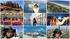 2016 Travel Recap! Cuba, New York City, Sedona Arizona, Miami Beach, Santa Barbara California, Dubai and Abu Dhabi, Myrtle Beach South Carolina....