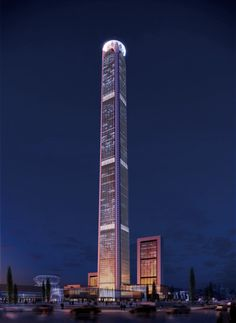 AD-Future-Talles-Skylines-06 Goldin Finance 117, Tianjin, China, Height: 1,957 feet, Floors: 128  Completion: 2016  The Goldin Finance 117, also known as the China 117 Tower, is a skyscraper under construction in Tianjin, China. The building is estimated to cost over $820 million and will (of course) have 117 storeys.