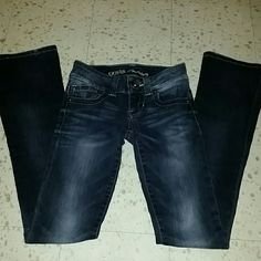 NWOT Guess stretch Jeans NWOT Guess premium Daredevil boot cut stretch jeans. Beautiful jeans! Size 23 inseam 30 Make an offer!!! Guess by Marciano Jeans