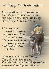 This makes me think of my Grandma... She didn't drive, so we walked everywhere when I stayed at her home.. I love you Grandma and I miss you.. One day, I'll see you again... Oh yeah, thanks for watching over me!! ;)
