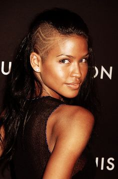 cassie ventura ...love her hair style