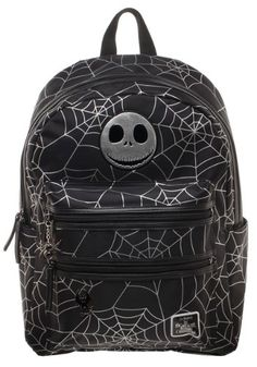 Nightmare Before Christmas Jack Spider Backpack Christmas 2f613c973454d