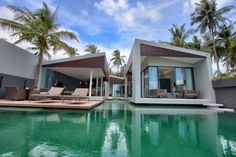 The Mandalay Beach Villas located in Koh Samui, Thailand have recently been completed.