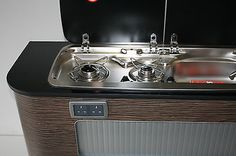 VW T5 Camper Smev 9222 R/H Combination Hob/Sink & Tap + Template Piezo Ignition